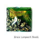 11836304 - Herbal Garden Shimmer Pillow Focal Bead