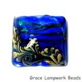 11836404 - Sapphire Sea Shimmer Pillow Focal Bead