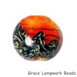 11836502 - Bonfire Shimmer Lentil Focal Bead