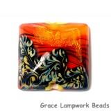 11836504 - Bonfire Shimmer Pillow Focal Bead