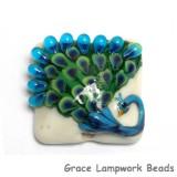 11837204 -Pretty Peacock Pillow Focal Bead