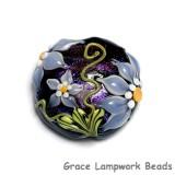 11838102 - Lilac's Elegance Lentil Focal Bead
