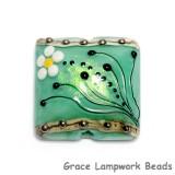 11838604 - Seafoam Florals Pillow Focal Bead