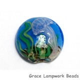 11838702 - Sea Jellies Lentil Focal Bead