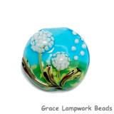 11838902 - Dandelion Wishes Lentil Focal Bead