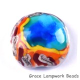 Yellowstone Midway Geyser Basin grace lampwork beads