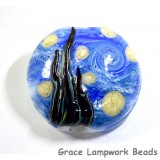 11841502 - The Starry Night Lentil Focal Bead