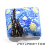 The Starry Night Pillow Focal Bead