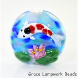 11842102 - Koi Fish Lentil Focal Bead