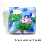 Water Lily Pillow Focal Bead