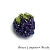 Purple Grapes Focal Bead