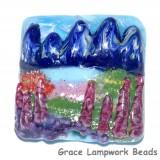 Rocky Mountain Focal Bead Grace Lampwork Beads