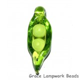 Pea Pod Two Babies Grace Lamwprk Beads