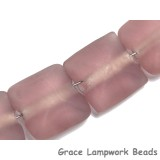 STP04 Clearance - Four Rose Transparent Matte Finish Pillow Beads
