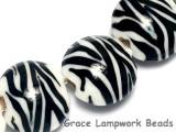 10204412 - Four Zebra Stripes Lentil Beads