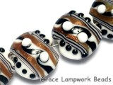 10204512 - Four Sophisticated Trio Lentil Beads