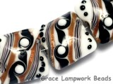 10204514 - Four Sophisticated Trio Pillow Beads