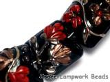 10205204 - Seven Copper Shadow Pillow Beads