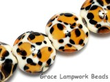 10302612 - Four Animal Prints Lentil Beads