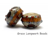 10305001 - Seven Pepper Spice Rondelle Beads