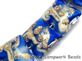 10410004 - Seven Cobalt Treasure Pillow Beads