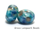 10410701 - Seven Ocean View Rondelle Beads