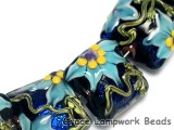 10411204 - Seven Azure's Elegance Pillow Beads
