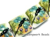 10504614 - Four Blue Dragonfly Pillow Beads