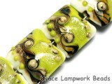 10505614 - Four Lime Stardust Pillow Beads