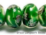 10507921 - Six Greener Treasures Rondelle Beads
