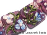 10603004 - Seven Violet Garden Pillow Beads