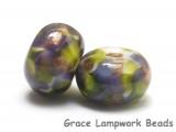 10603401 - Seven Wisteria Garden Rondelle Beads