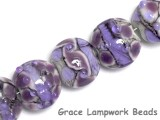 10605202 - Seven Lavender Rock River Lentil Beads