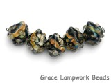 10902307 - Five Cheyenne Rock Crystal Beads