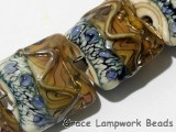 10902404 - Seven Beige & Ivory Free Style Pillow Beads