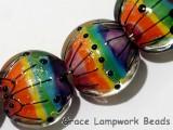 11008202 - Seven Rainbow Balloons Lentil Beads