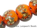 11102712 - Four Coral w/Beige Lentil Beads