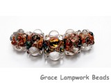 AB00711 - Wild Manzanita Boro Graduated Rondelle Beads