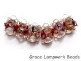 AB00921 - Sequoia Dusk Boro Rondelle Beads