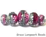 10109711 - Five Diva Party Graduated Rondelle Beads