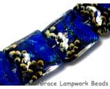 10413014 - Four Sapphire Sea Shimmer Pillow Beads
