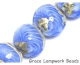 10413712 - Four Arctic Wave Lentil Beads