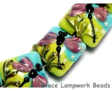 10504414 - Four Purple Dragonfly Pillow Beads