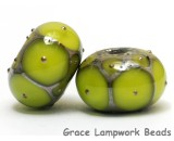 grace lampwork beads artisan handmade glass beads SRA