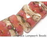 10704304 - Seven Pink/Soft Orange Pillow Beads