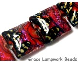 10706714 - Four Passion Pink Shimmer Pillow Beads