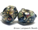 10902301 - Seven Cheyenne Rock Rondelle Beads