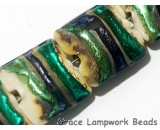 11005504 - Seven Green/Ivory Pillow Beads