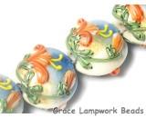 11008612 - Four Hawaiian Vacation Lentil Beads