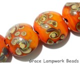 11102702 - Seven Coral w/Beige Lentil Beads